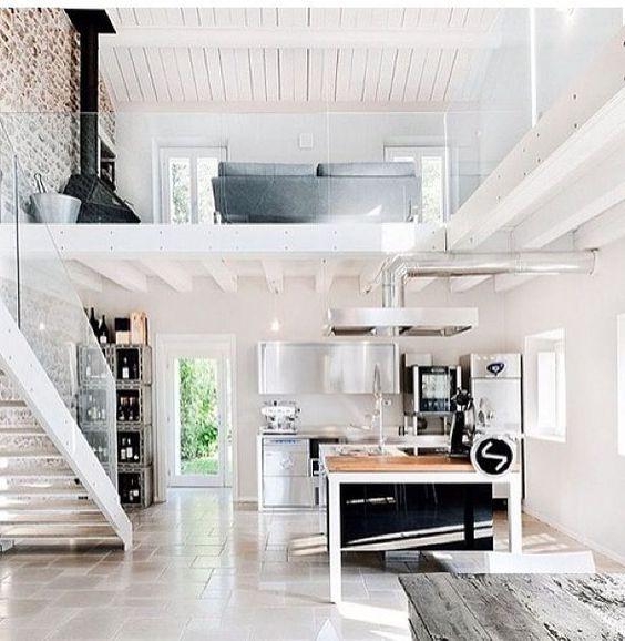 Urban Loft Design Ideas | ... , open urban space | http://homechanneltv.com/ #lofts #urban designs