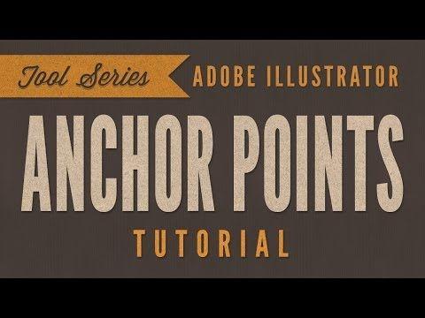 adobe illustrator cc tutorial the basics of anchor
