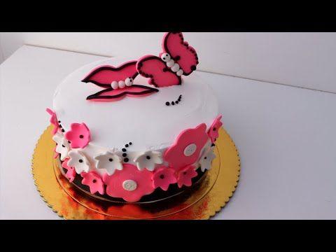 تزيين الكيكة بالتفصيل من الالف الى الياء Cake Desserts Food
