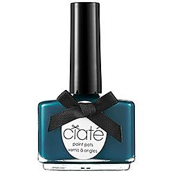 Ciaté - Paint Pots Nail Polish in Superficial - deep teal  #sephora