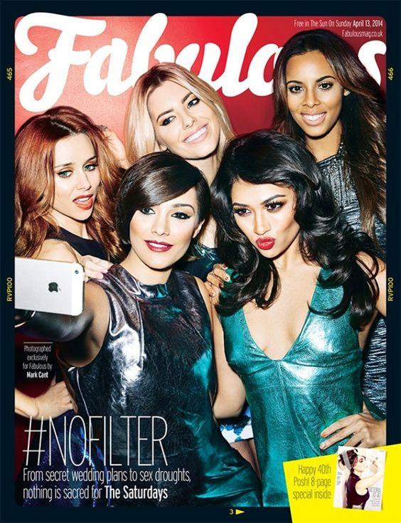 The Saturdays for Fabulous Magazine UК, April 13th 2014