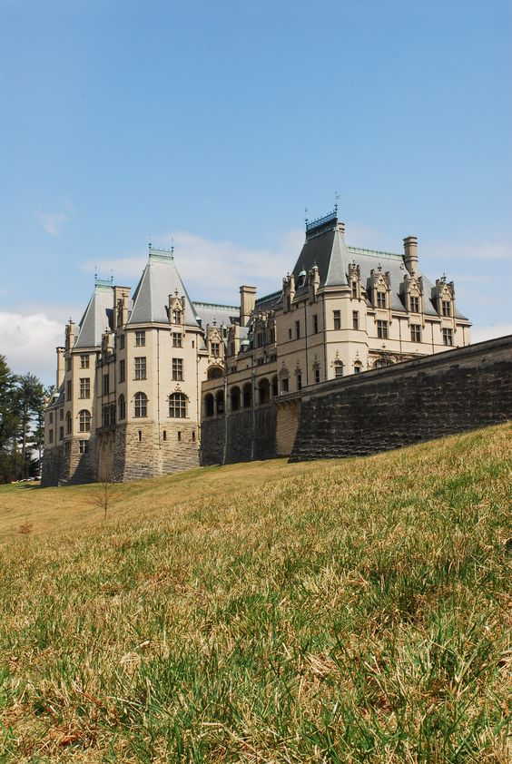Biltmore Estate - Asheville, North Carolina. Designed by famous Architect, Richard Morris Hunt