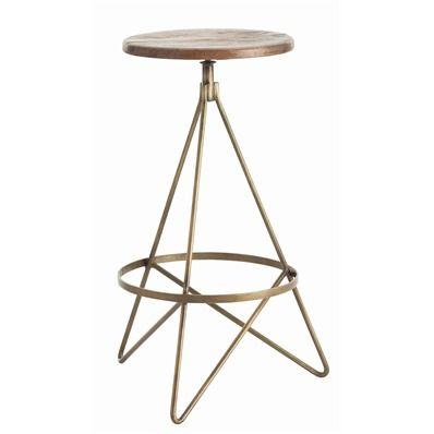 Wyndham Swivel Bar Stool: