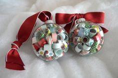 Weihnachtskugeln personalisieren und neu gestalten