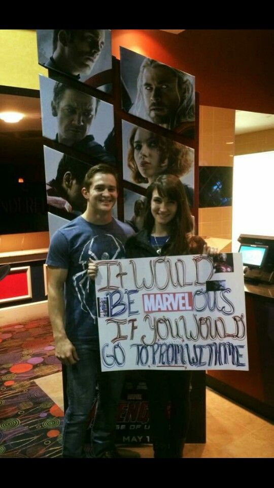 Marvel Promposal | Prom 2K18 | Pinterest | Marvel