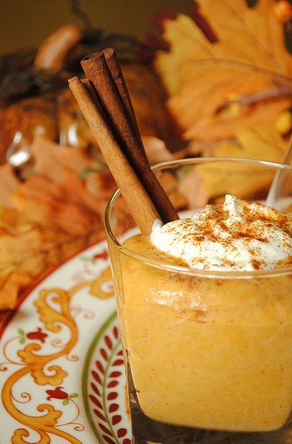FALL!!! Pumpkin pudding