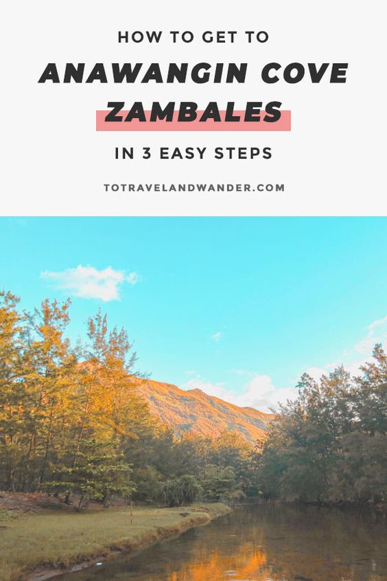 How To Get To Anawangin Cove Zambales in 3 Easy Steps