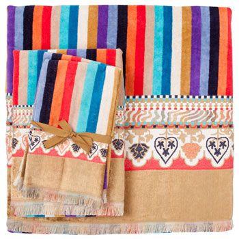 Zara Home colourful towels