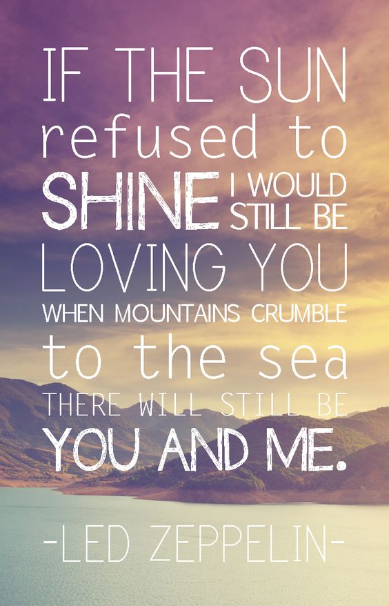 Lyrics and the sun will shine for you songs about and the ...