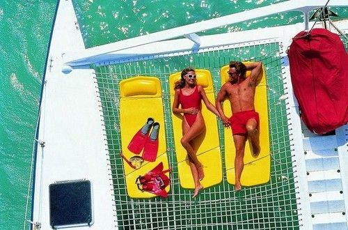 catamaran and beach