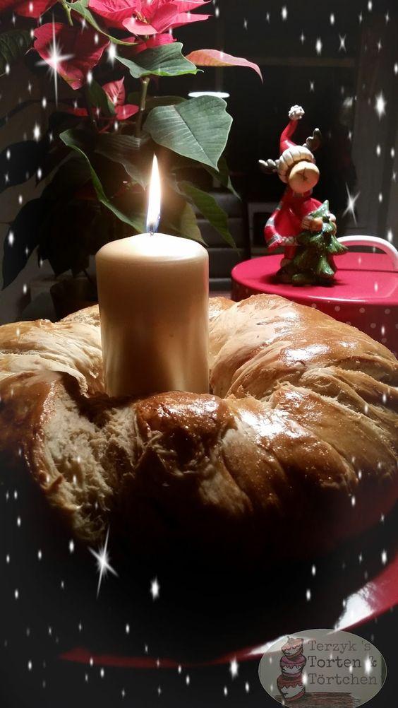 Terzyks Torten und Törtchen: Mein Hefekranz zum ersten Advent