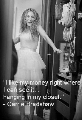 Carrie Bradshaw knows what she's talking about.