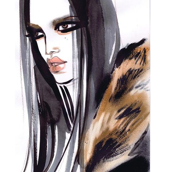I could live in a closet like this  Givenchy @riccardotisci17 #givenchy #givenchyfw16 #pfw #pfw16 #fashion #fashionart #faces #fashiondrawers #fashionillustration #artwork #artist #artsy #art #ink #paint #glam #luxury #fashionista #fashionlover #fashiondiaries #draw #glam #style #luxury