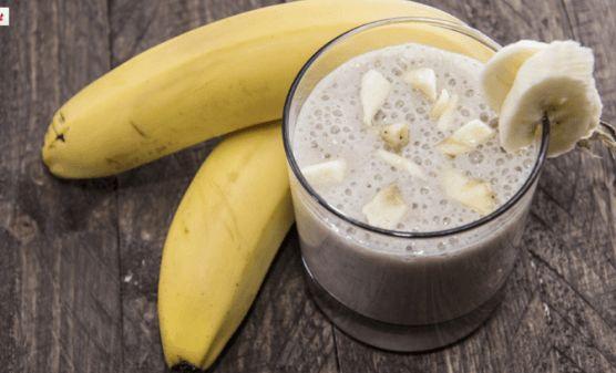 Incorpora a tu dieta este delicioso smoothie de plátano y jengibre para bajar tripa