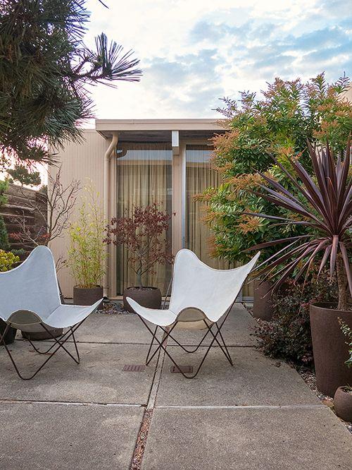 pin by hildegun varhelyi on midcentury residential exteriors butterfly chair