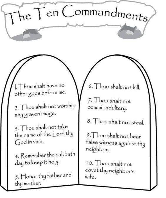 Ten Commandments | Search Results | Oak Grove Missionary Baptist Church
