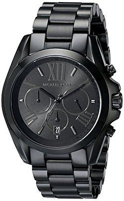 30813 jewelry Michael Kors Women's Bradshaw Black Watch MK5550  BUY IT NOW ONLY  $159.38 Michael Kors Women's Bradshaw Black Watch MK5550...