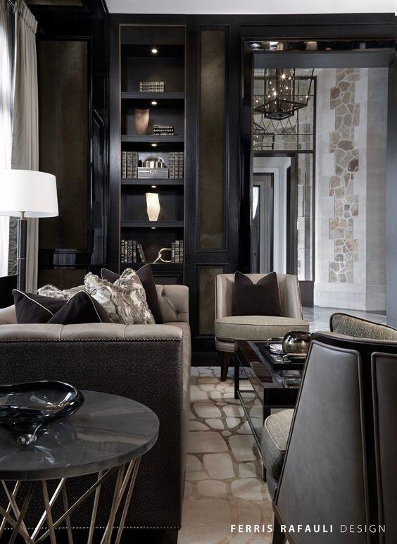 luxus wohnung interieur in peking verbindet büro- und hausdesign, Innenarchitektur ideen