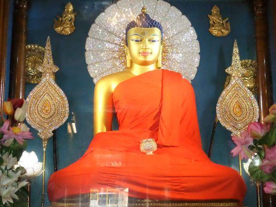 ...Buddha Shakyamuni in Bodgaya..