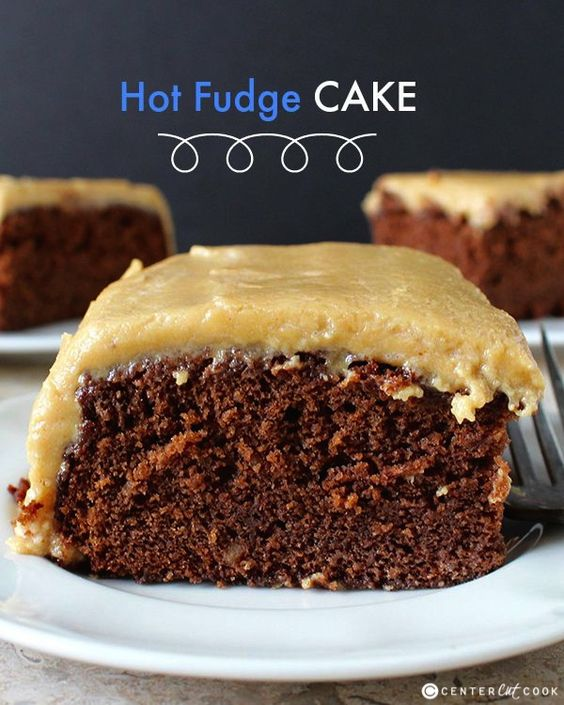 Hot fudge cake, Smooth and Cakes on Pinterest