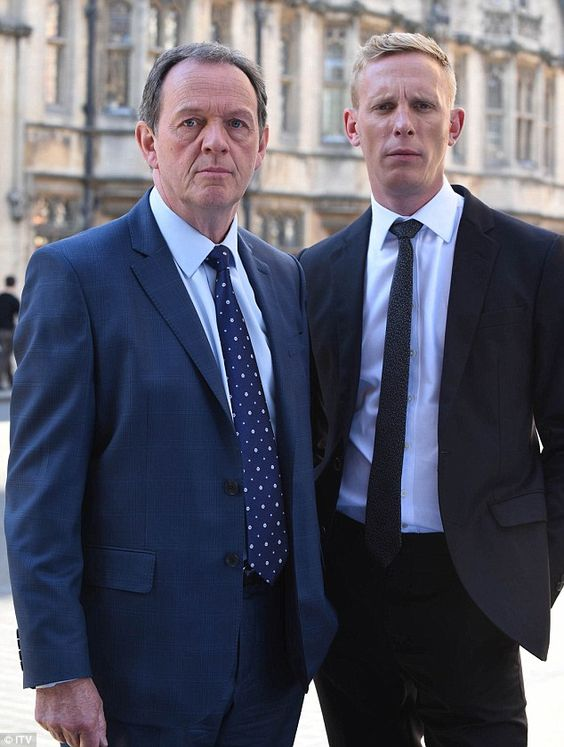 End of an era: Kevin Whately (left) and Laurence Fox (right) are ending their 10-year care...