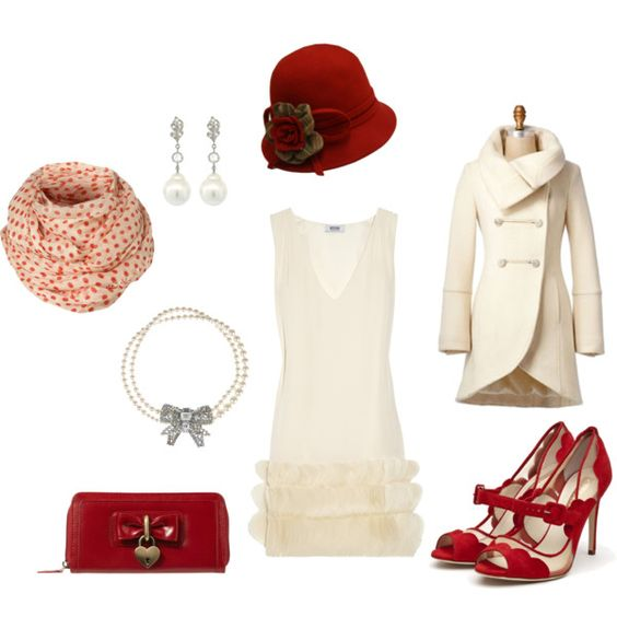 """""""vintage red"""" by rachelann34 on Polyvore"""