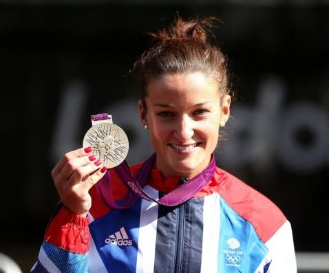 Lizzie Armitstead. Road Cycling. Silver medal.