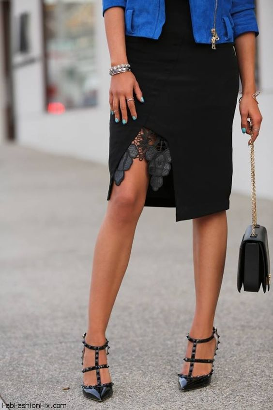 Love for Valentino pointed pumps