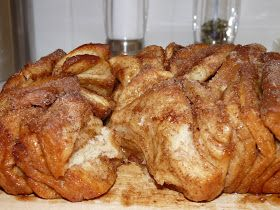 I Heart Food & So Can You: Cinnamon & Sugar Pull-Apart Bread