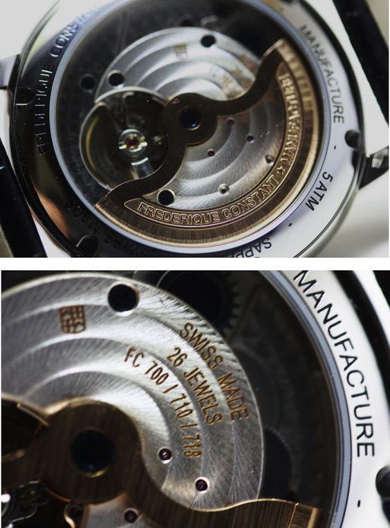【楽天市場】スイス製FREDERIQUE CONSTANT【フレデリック・コンスタント】クラシック・マニュファクチュール・オートマチック自動巻き腕時計/正規代理店商品:加坪屋(かつぼや)