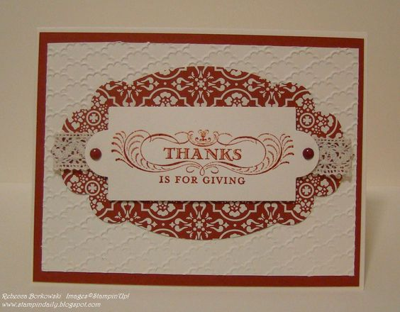 Seasonal Sayings Stampin Up