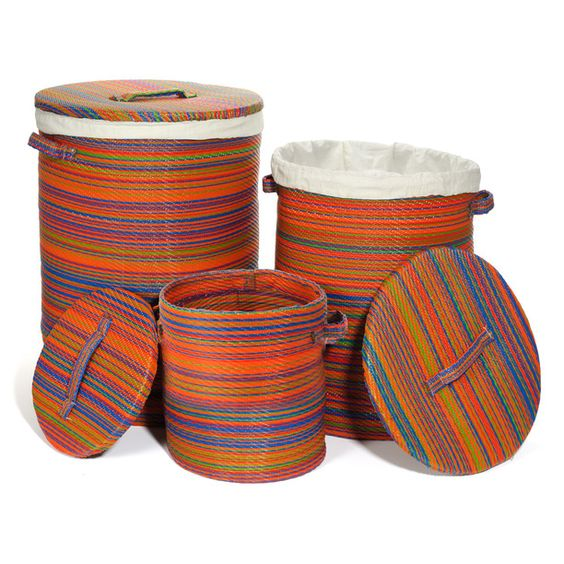 Cancun basket multi set of 3 now featured on fab.