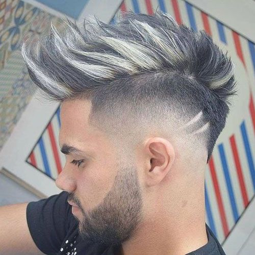 21 Best Mohawk Fade Haircuts 2020 Guide Mohawk Hairstyles Hair Styles Cool Hairstyles For Men
