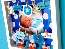 Snap Geldgeschenk Im Bilderrahmen Baby Geburt Junge Photos On