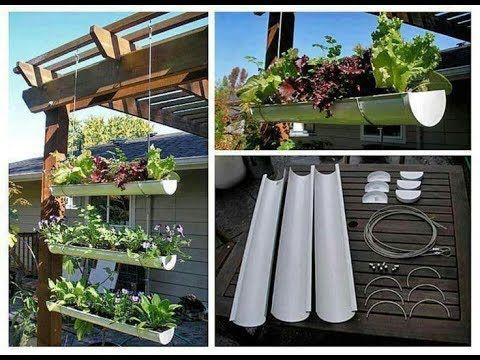 Huerta Vertical Tubo Pvc Colores Del Ser Jardines Colgantes Jardines Verticales Jardineras Colgantes