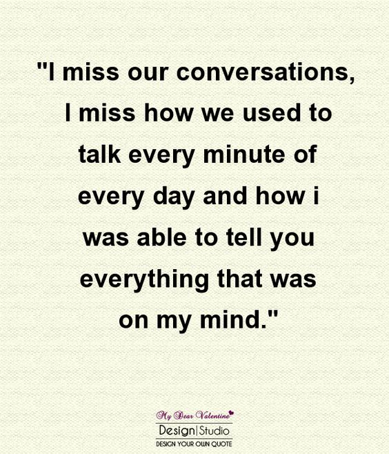 I miss when you used to talk to me. Then the fun stuff ended. Then you didn't talk to me anymore... http://ultimatedatingsystem.com/