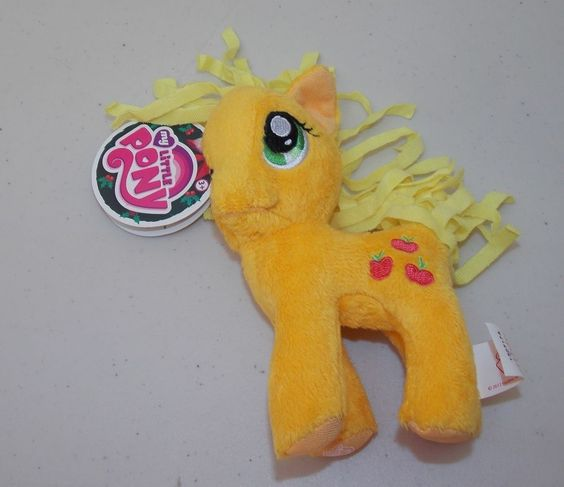 "My Little Pony Friendship Is Magic AppleJack Plush Stuffed Animal Toy 6"" Hasbro #Hasbro"