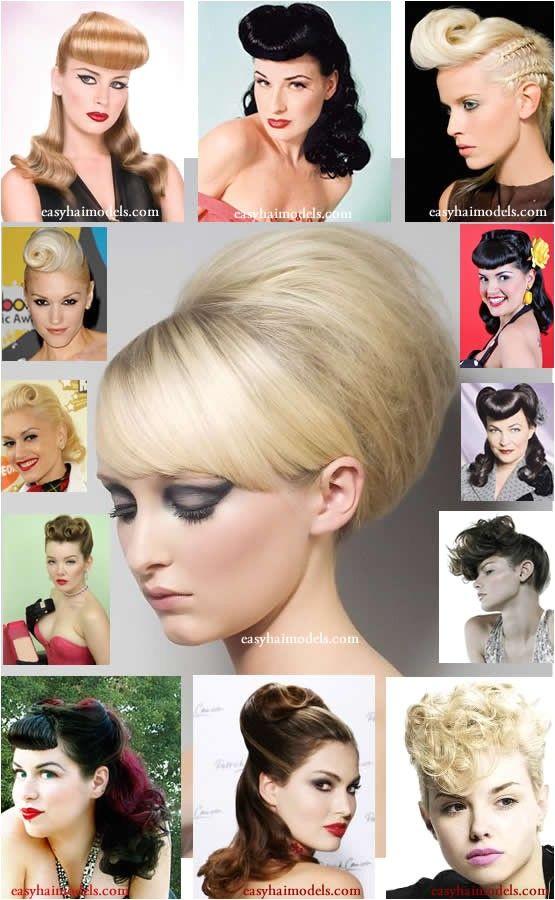 Einfache Rockabilly Frisuren Diyfrisuren Rockabilly Hair Wedding Hairstyles Photos Hair Styles