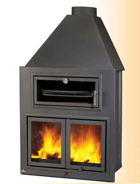 Pinterest the world s catalog of ideas - Chimeneas con horno ...