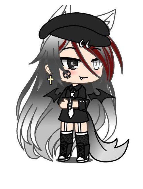 Bad Girl Gacha Life Tomboy Outfits Gachalifetomboyoutfits Anime Wolf Girl Tomboy Girl Cute Anime Character