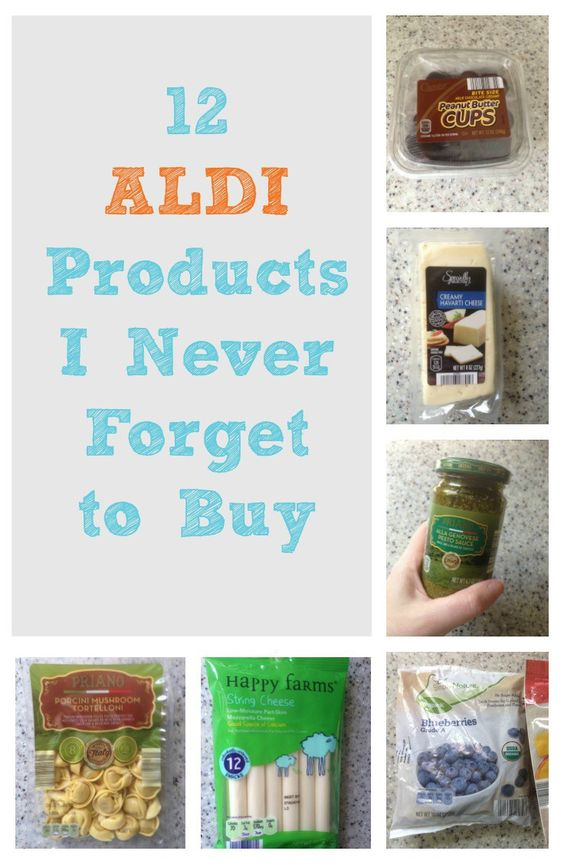 These 12 Aldi products are our family's favorites!  #aldistores