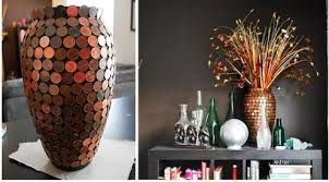 1 pence coin paste vase - Google Search
