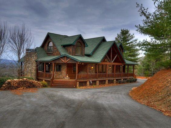 Serenity in mineral bluff north ga cabin rental cabin for North ga cabin rentals cheap