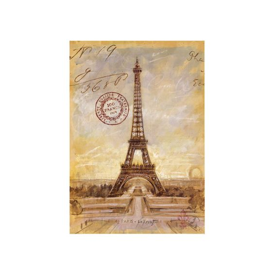 Chad Barrett - Eiffel Tower Sketch ❤ liked on Polyvore featuring backgrounds, paris, eiffel tower, fillers and pictures