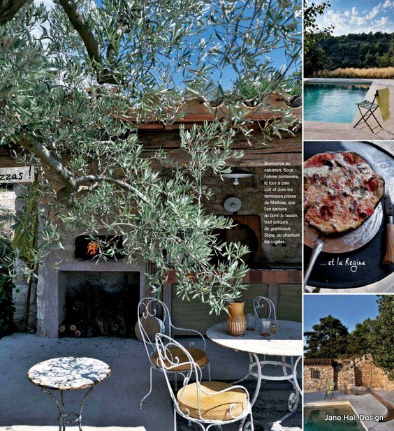 Rustic french country style outdoor living featured in for Maison sud france