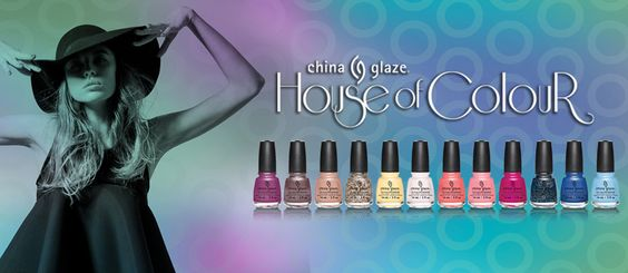 China Glaze, House of Colour collection, Spring 2016