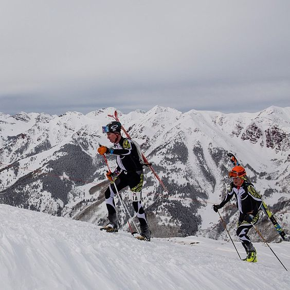 Congratulations to our winners of the Audi Power of Four Ski Mountaineering Race @john_gaston1 and @maxtaam. ( : @jswansonphoto )