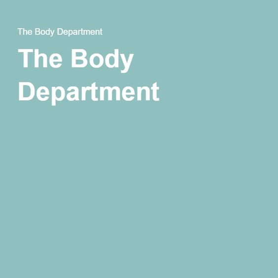 The Body Department