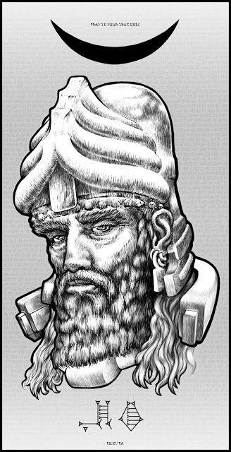 Sumerian God ENKI: