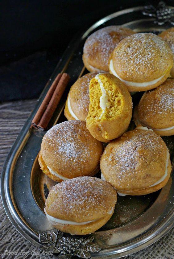 Food for the soul: Меки тиквени сладки с крем